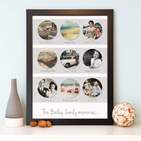 Personalised Memories Photo Collage
